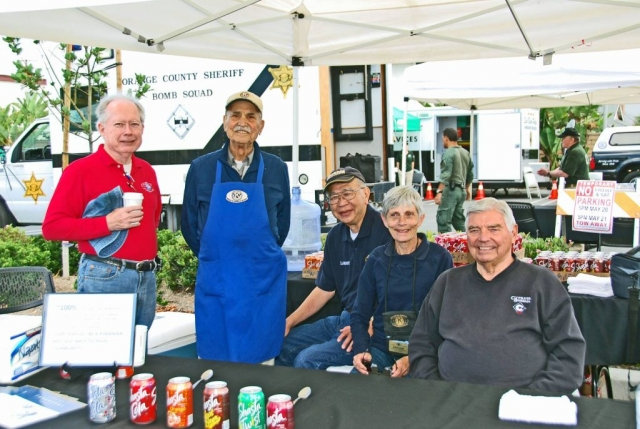 Cypress Kiwanis volunteers